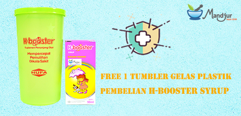 Promo H-Booster Syrup