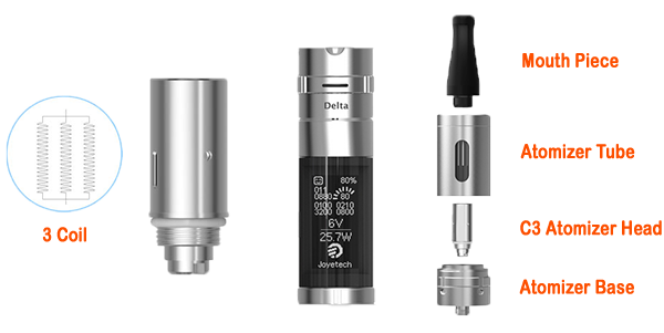 C3 Atomizer Head