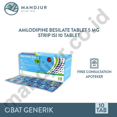 Amlodipine Besilate 5 mg