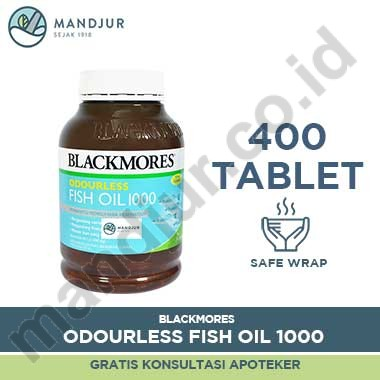 Blackmores Odourless Fish Oil 1000 mg 400 tablet