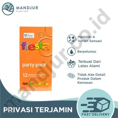 Fiesta Party Pack isi 12