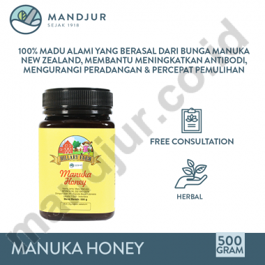 Manuka Honey Hillary Vectr