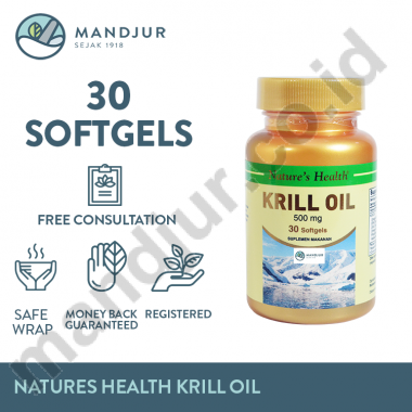Natures Health Krill Oil Isi 30 Vector