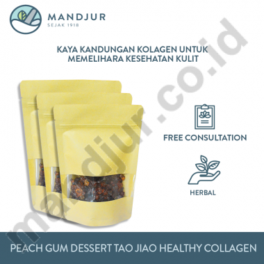 Peach Gum Dessert Tiao Jiao Healthy Collagen
