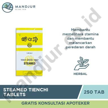 Steamed Tienchi Tablets (Isi 250)