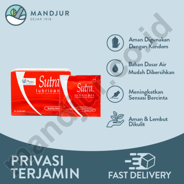 Sutra Lubricant - Sachet @ 5 mL + vctor