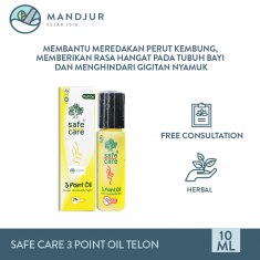 Safe Care 3 Point Oil Minyak Telon Aromatheraphy 10 mL