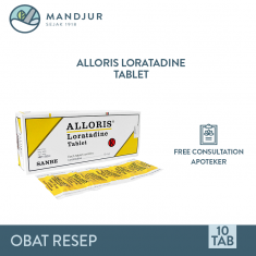 Alloris 10 Mg Strip 10 Tablet