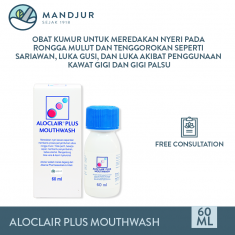 Aloclair Plus Mouthwash 60 mL