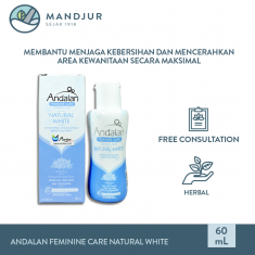 Andalan Feminine Care Natural White Intimate Wash