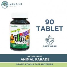 Natures Plus Animal Parade Multivitamin & Mineral 90 Tablet Vector