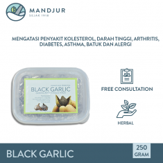 Black Garlic (Bawang Putih Tunggal Hitam)