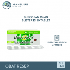 Buscopan 10 Mg 10 Tablet