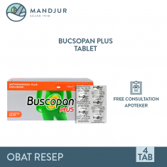 Buscopan Plus 4 Tablet
