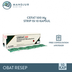 Cefat 500 Mg 10 Tablet