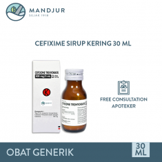 Cefixime Trihydrate 100 mg Sirup Kering