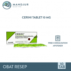 Cerini 10 Mg Strip 10 Kapsul