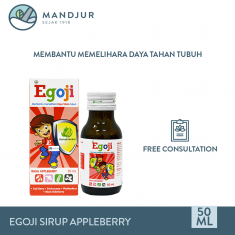 Egoji Sirup Rasa Appleberry 50 mL