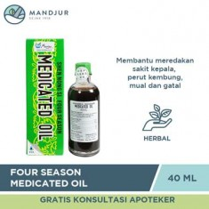 Four Season Medicated Oil 40ML
