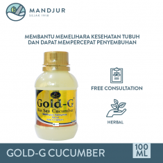Jelly Gamat Gold G Sea Cucumber 100 mL