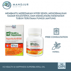 H2 Health & Happiness Superba Krill Oil