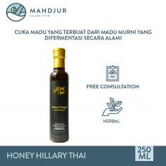 Honey Vinegar Hillary Thai 250 mL