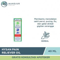 Hysan Pain Reliever Oil - 40 mL