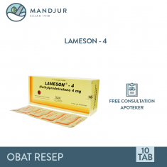 Lameson 4 mg Strip 10 Tablet