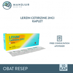 Lerzin 10 Mg Strip 10 Kapsul