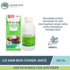 Lo Han Kuo Cough Juice - Yulin Vector