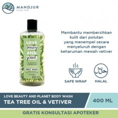 Love Beauty and Planet Body Wash Tea Tree Oil & Vetiver 400 mL