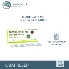 Motilium 10 Mg Strip 10 Tablet