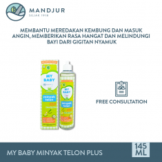 My Baby Minyak Telon Plus 145 ml