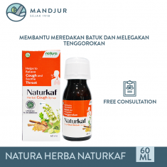 Naturkaf Herbal Cough Syrup 60 mL