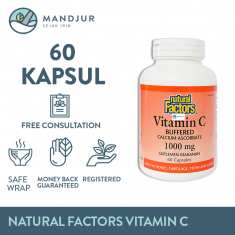 Natural Factors Vitamin C Buffered 1000 mg