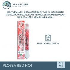 Plossa Minyak Angin Aromatherapy 4in1 Red Hot