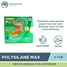 Polysilane Max Peppermint Tablet