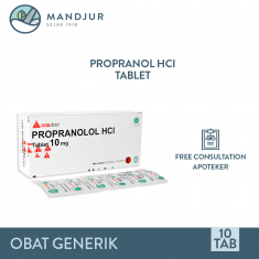 Propranolol 10 Mg Strip 10 Tablet