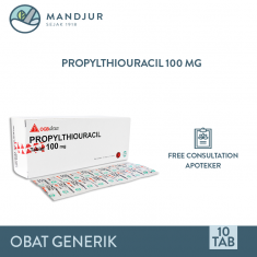 Propylthiouracil 100 Mg Strip 10 Tablet