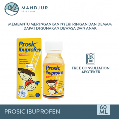 Prosic Syrup Rasa Jeruk 60 mL