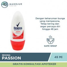 Rexona Deodorant Anti-Perspirant Roll On Passion 45 ML