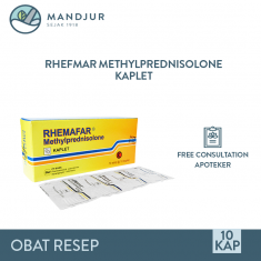 Rhemafar 4 Mg Strip 10 Kaplet