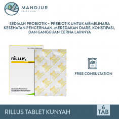 Rillus Strip 6 Tablet