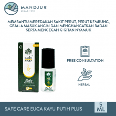Safe Care EUCA Minyak Kayu Putih Plus Aromatherapy 5 mL