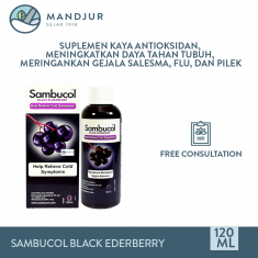 Sambucol Cold and Flu Syrup 120 ML