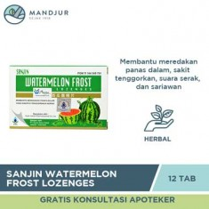 Sanjin Watermelon Frost Lozenges