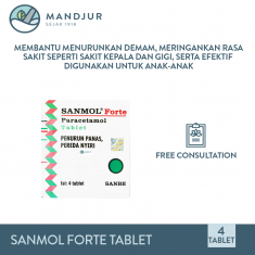 Sanmol Forte 4 Tablet