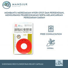 Shenyang Red Flower Pain Relief Capsule
