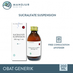 Sucralfate Suspensi 500 mg
