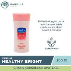 Vaseline Healthy Bright Hand Body Lotion Perfect 10 200 ML